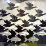 Escher's fish bird