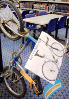 Bike Wise display